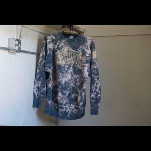 Vintage Oregon Acid Wash Champion Sweater